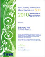 EdwardHo_VolunteerAward2010