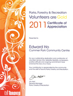 EdwardHo_VolunteerAward2011