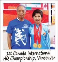 1st Canada International Health Qigong Championship