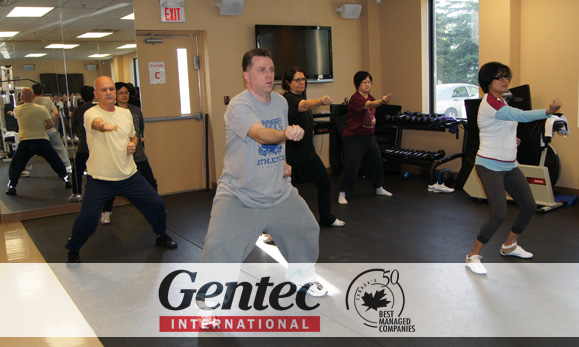 Gentec International Ba Duan Jin Class Spring 2012