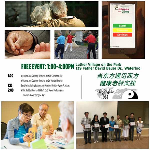 East Meets West Healthy Aging Practices